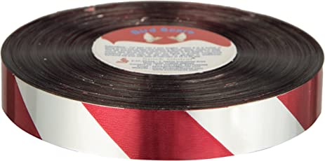 Spick Global Bird Scare Ribbon Deterrent Pigeon Control Tape Red Silver Iridescent Flash Repellent Scare Tape 20 mm x 250 meter