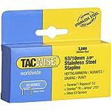 Tacwise Type 53/10 mm RVS nietjes voor nietpistool (2000)