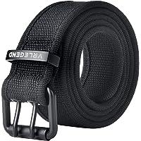 VRLEGEND Cintura Uomo Cinture Militare Tattica Cintura Donna Cinta Canvas Belts 110-180CM Con Fibbia a Doppio Punto