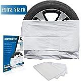 JK Trade® EXTRA STRONG 4 Piece Premium Tire Bag Set for Tire Storage & Storage of your Car Tires, Tire Bag Set, Rim Bag, fits