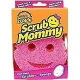 Scrub Daddy SMPK Mommy Anti-Rayures Éponge à Récurer Double Face Rose
