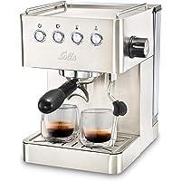 Solis Barista Gran Gusto 1014 Kaffeemaschine - Espressomaschine mit Dampf- und Heißwasserfunktion - 1.7L Wassertank…