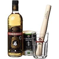 Velho Bar eiro Set Caipi Gold II, Cachaca dorate, lo zucchero di canna, Schiacciapatate, vetro, confezione regalo…