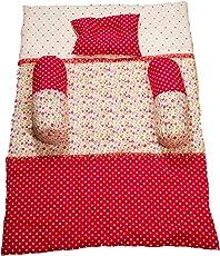 Creative Textiles Well Sleep Printed Cotton Baby Bedding Set (100 X 70cm, Multicolour)