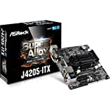 Asrock J4205-ITX Hauptplatine schwarz/grau/braun/rot
