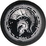 Escudo Espartano 100% Bordado - Parche Ropa - Parches Militares - parches para tela - parches para jeans - Dimensiones 76 x 7