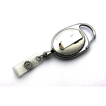 Jojo Metal 30mm mit Schlüsselring und Gürtelclip Chrom