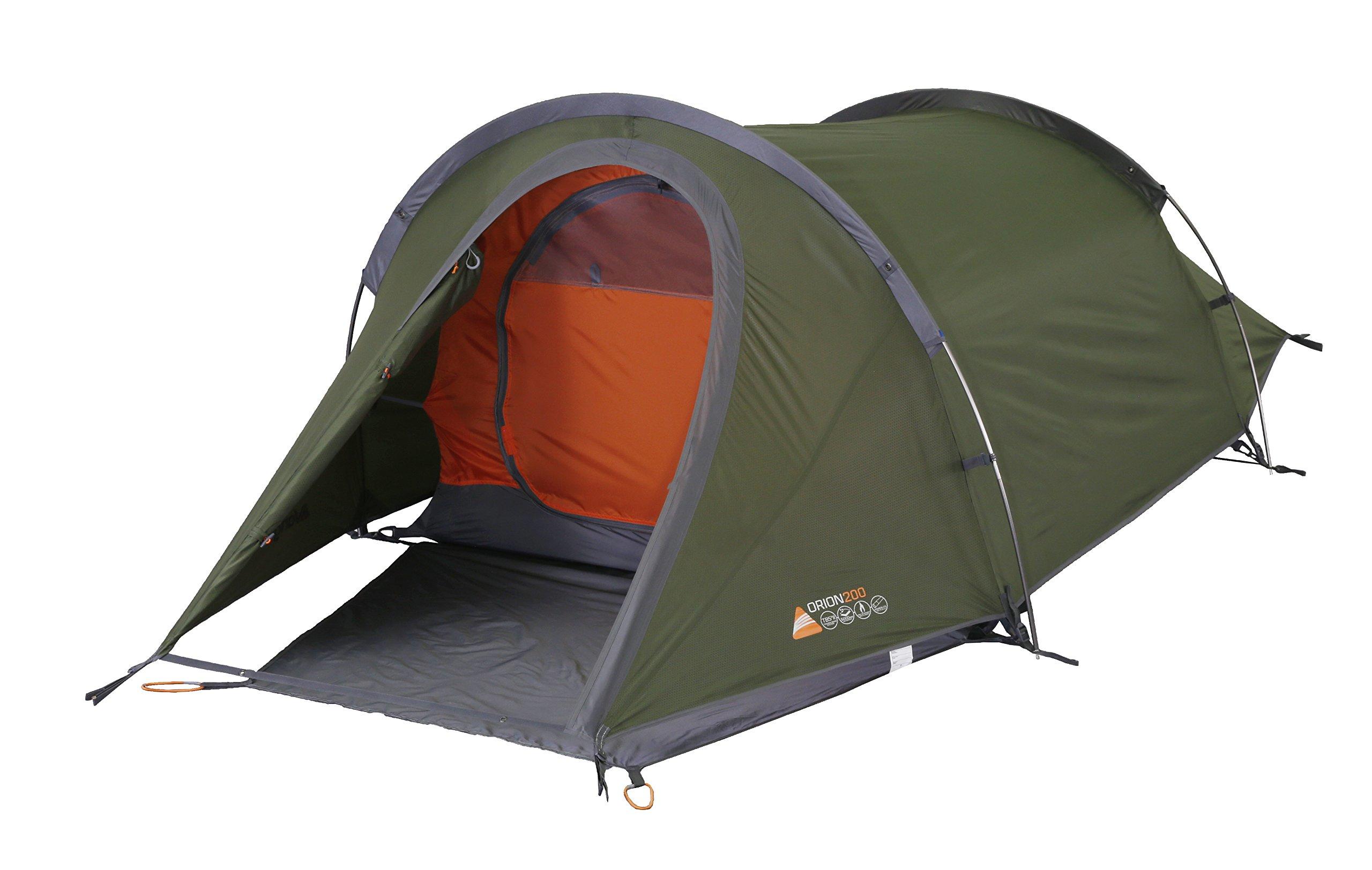 Vango Orion Trekking Tent, Cactus Green, 200 1