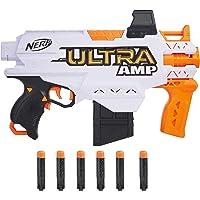 Nerf Ultra Amp - Blaster motorizzato a 6 Freccette con Clip, 6 Freccette Nerf Ultra compatibili Solo con Freccette Nerf…