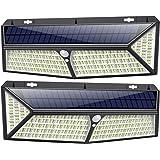 Kilponen Lampe Solaire Extérieur 430 LED【Puissante éclairage 4400mah - 3500LM - 270° Angle】Détecteur de mouvement éclairage S
