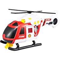 Teamsterz TZ Light and Sound Fire Helicopter