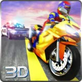 Sports Bike Race Police Chase Simulator 3D: Vegas City Gangster Criminal Escape Adventure Mission Games Free For Kids 2018