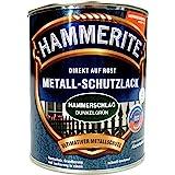 Hammerite, Metaalbeschermende lak hamerslag, 0,75 liter - donkergroen