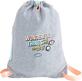 Mr. Wonderful Small Sack Bag-Wonderful Things Are Coming, Multicolore, taglia unica, 2 Pezzi