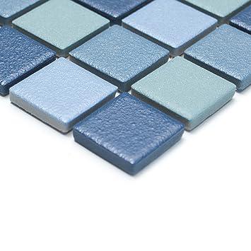 carrelage mosaque antidrapant r10 cramique pour salles de bainssol douche amazonfr bricolage - Carrelage Antiderapant Salle De Bain