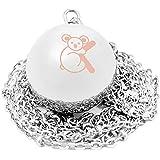 Koala Babycare® - Collana Chiama Angeli Gravidanza in Argento 925 - Koala Silver Lullaby