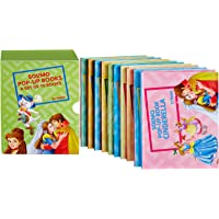 Amazon Brand - Solimo Pop-Up Board Book Set (10 Titles)