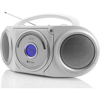 soundmaster rcd5000ws cd player wei heimkino. Black Bedroom Furniture Sets. Home Design Ideas