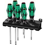 wera 5105650001 Kraftform Plus 334.6 Screwdriver Set with Rack and Lasertip, 6 - Pieces