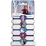 Craze 22153 Disney Frost 2 Hårsnoddar för Barn, Olika Färger, 5 st