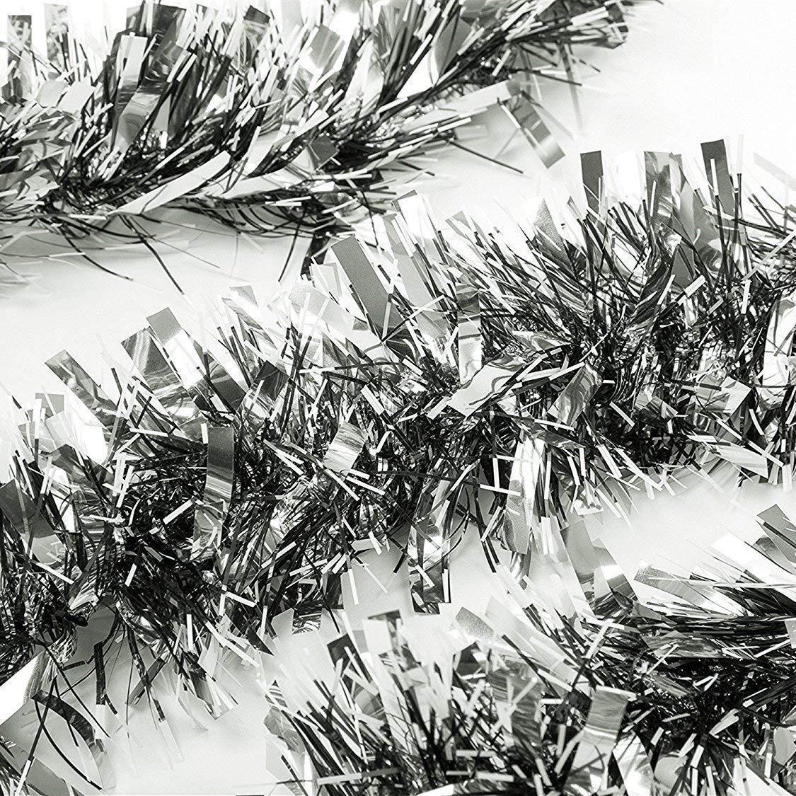 Bricolage d/écoration de f/ête de No/ël Whaline Lot de 15 guirlandes de No/ël en pin Artificiel 11,8 cm avec tiges de Verdure en Faux pin pour d/écoration de Vacances de No/ël d/écoration d/'int/érieur