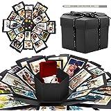 WisFox Explosion Box, Creativo DIY Hecho a Mano Sorpresa Explosión Caja de Regalo Amor Memoria, Álbum de Fotos de Scrapbookin