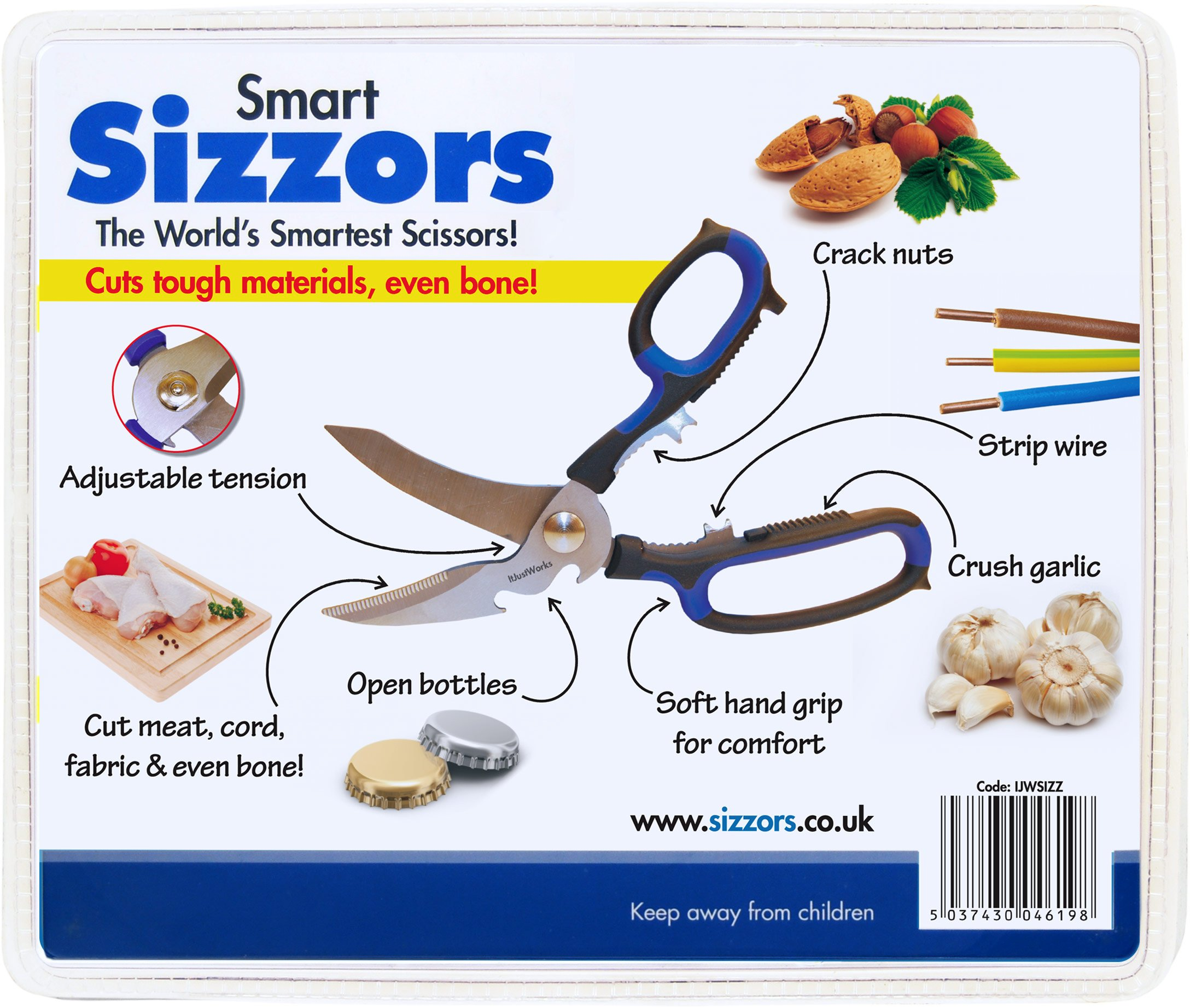 AnySharp Smart Sizzors 'Cut Anything' Multi-Purpose Scissors 2