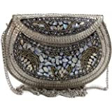 Ags TRADERS Women's Clutch (Silver)