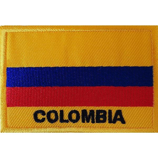 Parche bordado de la bandera de Colombia para coser en ...