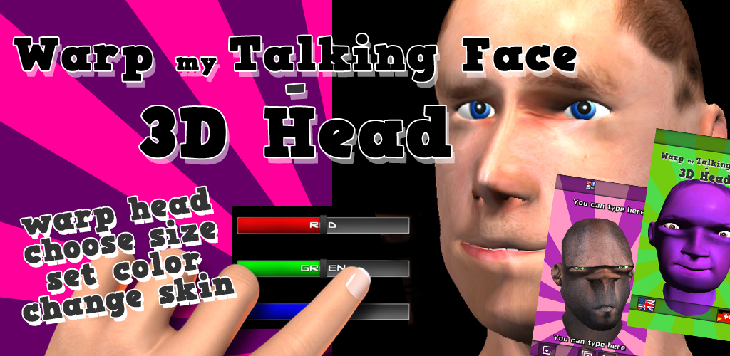 Zoom IMG-1 warp my talking face 3d