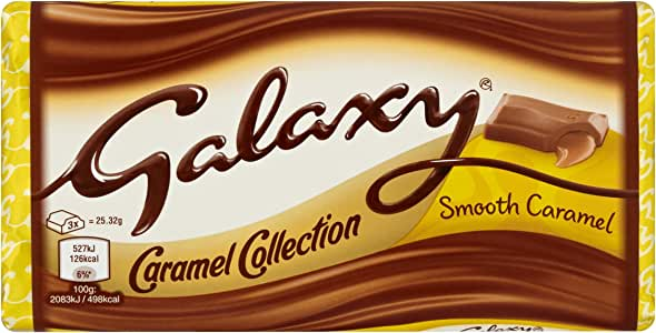Galaxy Smooth Caramel Chocolate Bar for Sharing, Halloween ...