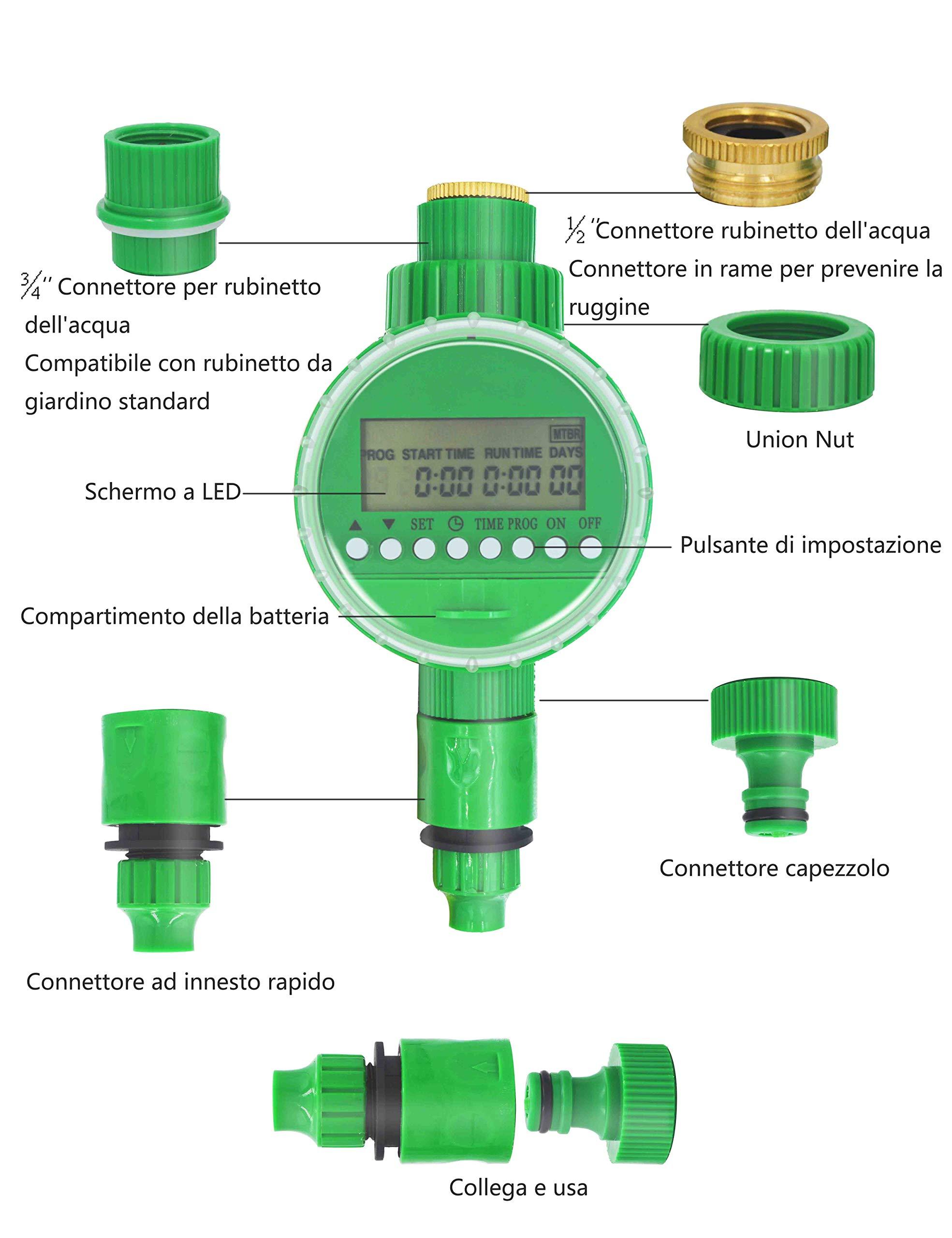 Irrigatore Automatico Timer Irrigazione Kimood