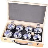 Weiblespiel 010206 Boules-set in houten kist, 8-delig
