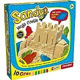 Lisciani - Sandy Mega Castle (80854) 600 g Arena mágica