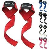 GYMGEARS Profi Zughilfen [Gepolstert] 60 cm für Krafttraining, Bodybuilding & Fitness - Für Frauen & Männer Geeignet - 2 Jahre Gewährleistung!