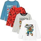 Spotted Zebra Niño Disney Star Wars Marvel Camisetas de manga larga