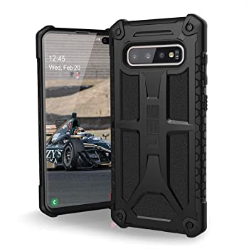 UAG Samsung Galaxy S10 Plus [6.4-inch screen] Monarch [Black] Military Drop Tested Phone Case