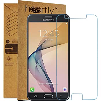 Heartly Samsung Galaxy J7 Prime Sm-G610F/Samsung Galaxy On7 (2016)/Samsung Galaxy On Nxt Tempered Glass Protective 2.5D 0.3mm Pro 9H Hardness Toughened Screen Protector