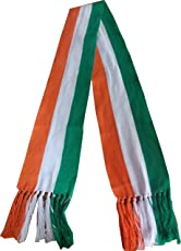 Sheela Ad Makers Indian Flag Colour Scarf