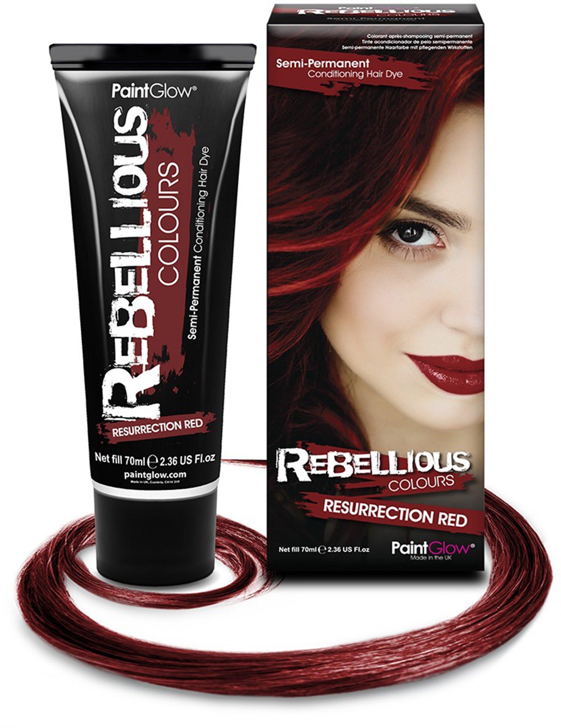 Paintglow – Rebellious Colours – Tinte de Pelo Semi-Permanente 70 ml (Shocking Pink) – 1 unidad