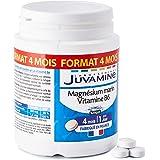 JUVAMINE - Equilibre Nerveux - Magnésium Marin 300mg + Vitamine B6 - MAXI FORMAT 120 Comprimés