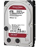 """WD RED Unità Interna per NAS da 4 TB, 5400 Giri/Min, SATA 6 Gb/s, SMR, 256 MB di Cache, 3.5"""""""