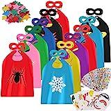 vamei Superhelden kostuum kinderen jongens superhelden cape masker Halloween DIY cape helden rollenspel verjaardagsfeest souv
