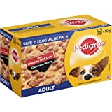 Pedigree Adult Wet Dog Food, Chicken & Liver Chunks in Gravy, 70 g (Pack of 15)
