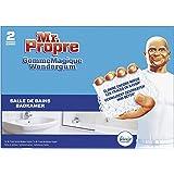 Mr Propre Gomme Magique Salle de bain éponge, Elimine les traces et taches tenaces - boîte de 2 pièces