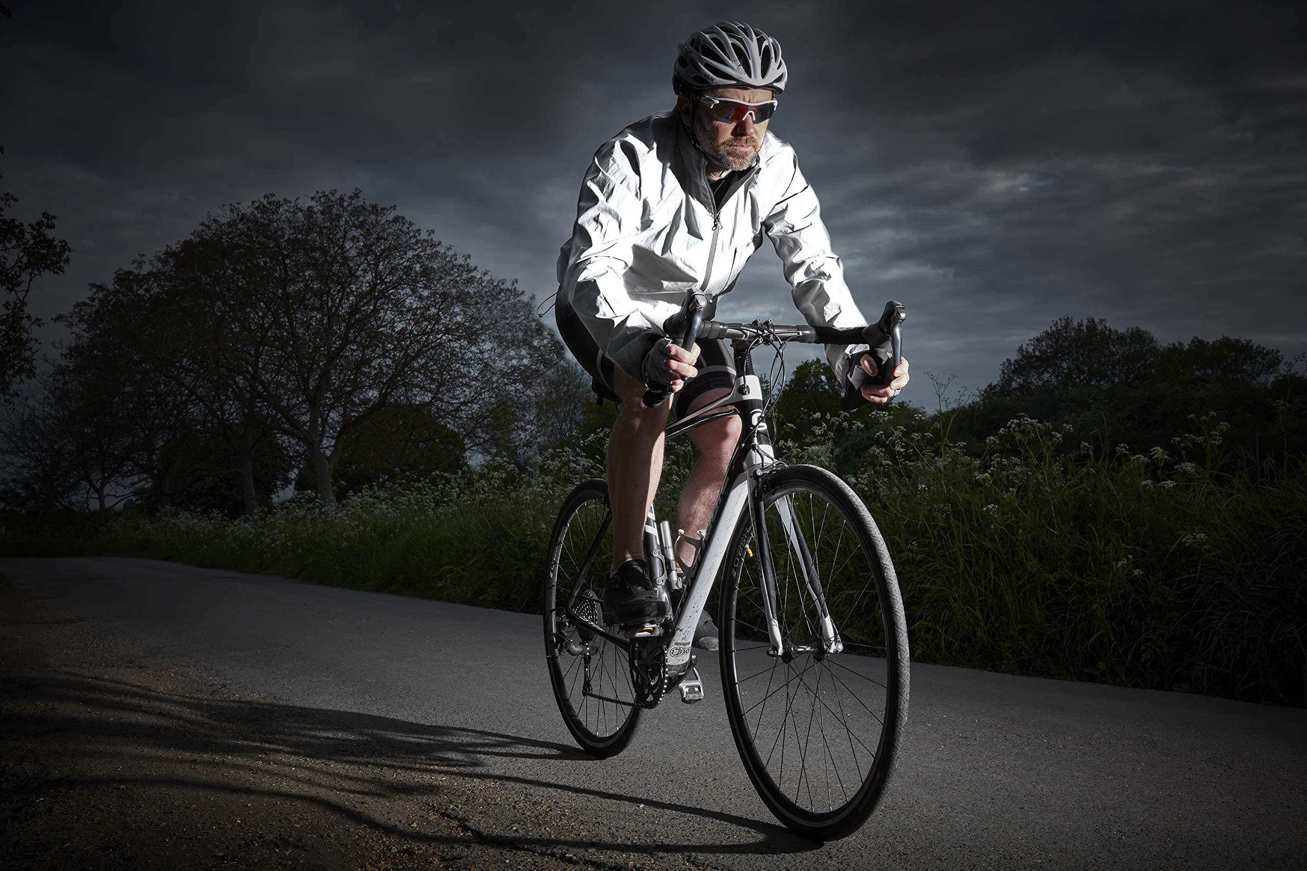 Ettore Giacca da Ciclismo Impermeabile Traspirante