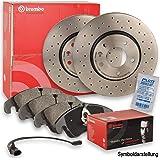 Vorne Kit Medien Bremsbeläge Brembo 09 5843 10 P23085 Auto