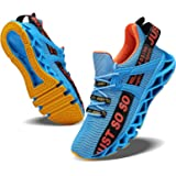 JSLEAP Men's Trainers, Running Shoes, Light Blade, Fitness Road Hiking Shoes, Breathable, Non-Slip Fashion Casual Trainers. B