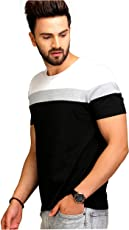 AELO Men's Cotton T-Shirt (Aelotshirt1021-P)