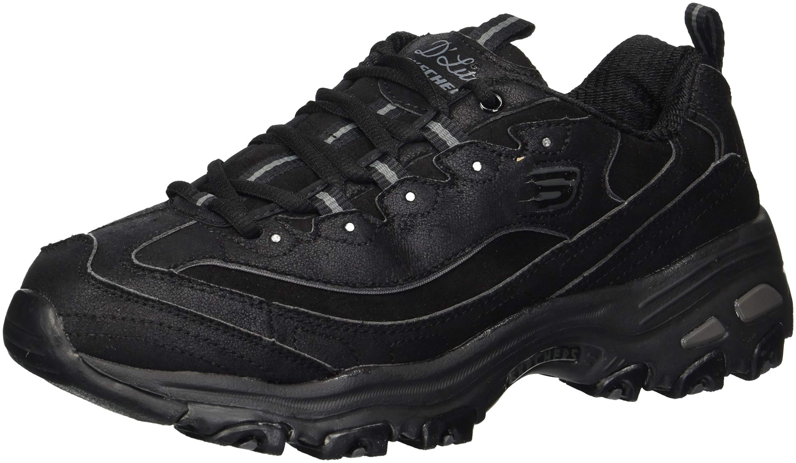 Skechers Damen Sneaker D´Lites March Forward SchwarzWeiß, Schuhgröße:EUR 40